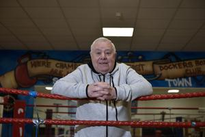 Big hit: Boxing legend Paddy Fitzsimmons