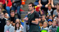 New targets: Andy Murray has sights set on coming back strong in the new decade