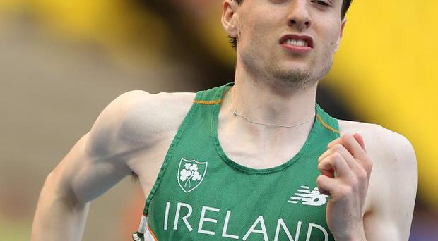 Mark English just missed out on a place in the men's 800 metres semi-finals