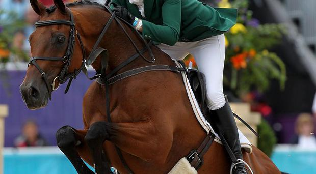 Aoife Clark delivered a fine cross-country round aboard Fenyas Elegance