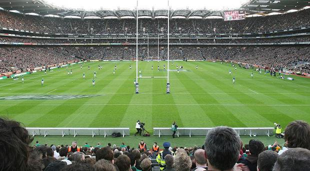 Ireland take on Australia at Kingspan Breffni Park on October 19 and at Croke Park, pictured, on October 26