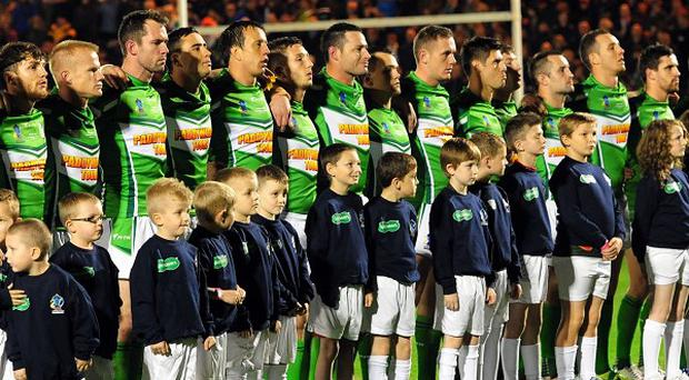 Ireland are ready to play on home soil