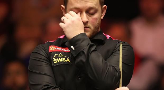 Mark Allen missed out on a third consecutive Haikou World Open title