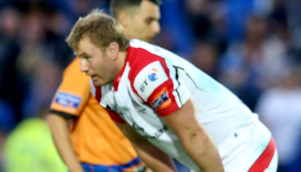 Feeling down: It's been another season of so near yet so far for Ulster and the likes of Roger Wilson following the PRO12 defeat to Leinster