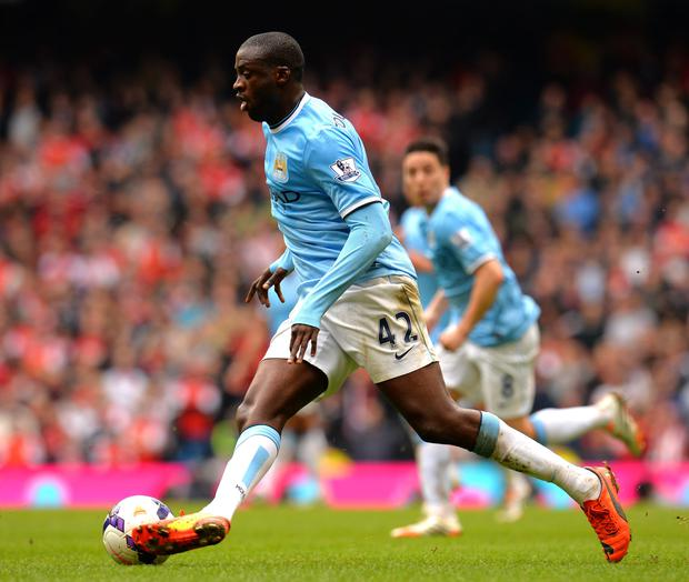 What's he up to? Yaya Toure left a lot of people confused yesterday about his future or otherwise at Manchester City