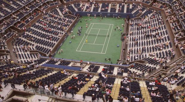 James McGee made it to a grand slam event but will not be able to feature on Centre Court at Flushing Meadows