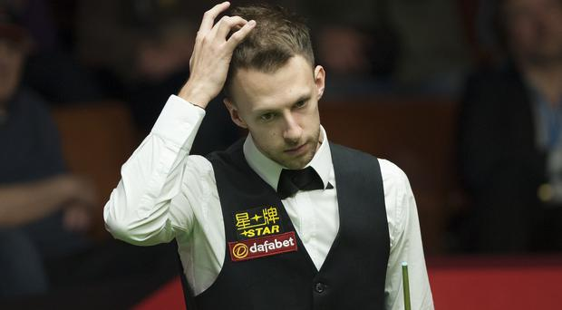 Judd Trump suffered a surprise first-round loss
