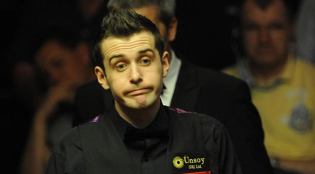 Mark Selby, pictured, defeated Fergal O'Brien to set up a semi-final against Mark Allen