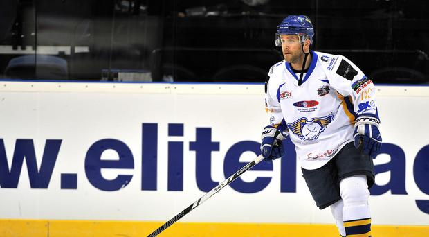 Danny Stewart helped the Fife Flyers upset the Braehead Clan