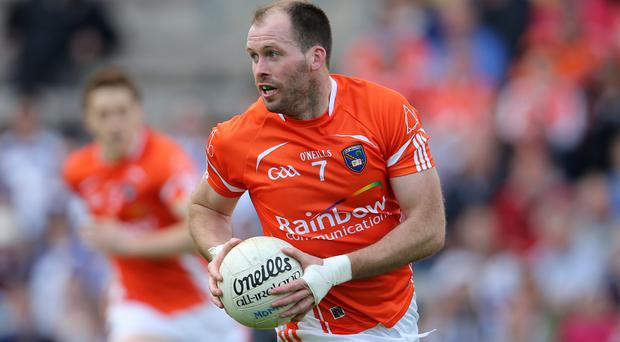 Wrong call: Armagh's CIaran McKeever should be in the International Rules squad, according to Steven McDonnell
