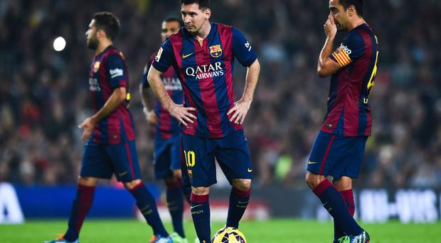 Barca great: But Lionel Messi can be bored at times