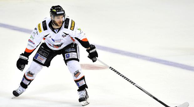 Robert Dowd was on target for the Sheffield Steelers