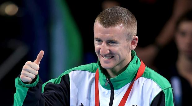Paddy Barnes has been awarded an MBE