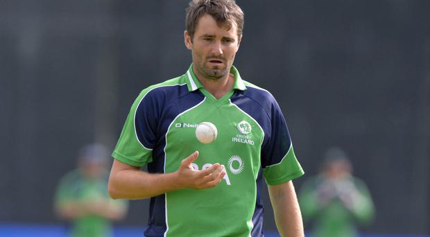 Ruled out: Tim Murtagh will miss the Tri-Series in Dubai