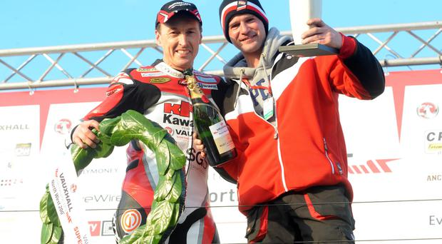 Setting sail: Jeremy McWilliams and Ryan Farquhar are off to Australia to compete in the International Island Classic