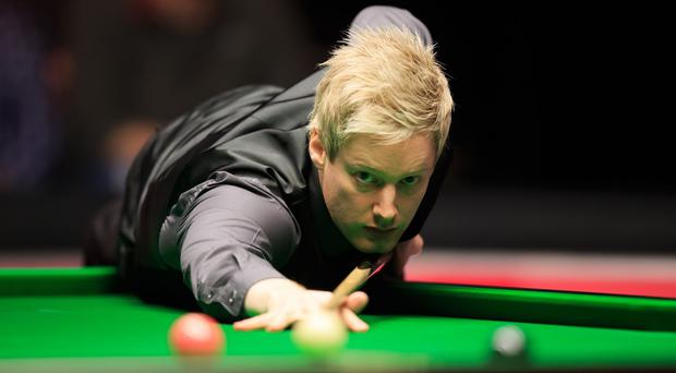 Neil Robertson, pictured, defeated Ronnie O'Sullivan 6-1 in the semi-finals