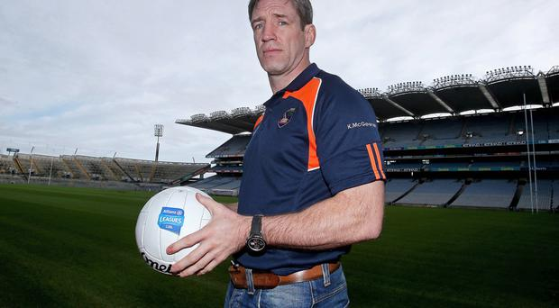 Kieran McGeeney admits that his players have a lot of work to do if they hope to reach Division Two