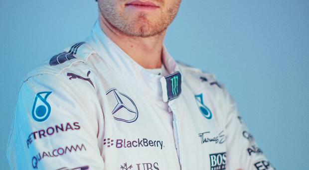 So close: Nico Rosberg was second in the 2014 standings