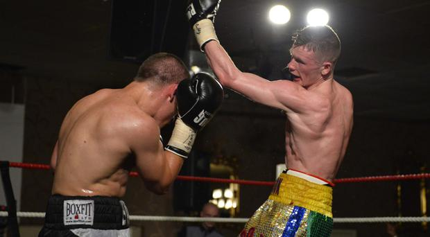 Big chance: James Tennyson hopes to claim the Celtic featherweight title