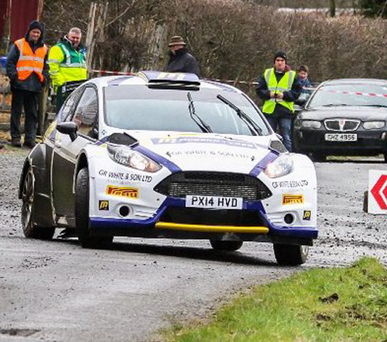 Familiar face: Alastair Fisher will return to the Circuit of Ireland Rally this weekend following a three-year absence