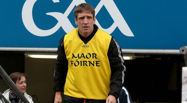 On the up: Kieran McGeeney is building strong Armagh squad