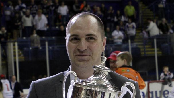 Coach Gerad Adams has steered Sheffield Steelers to the Elite League play-off final