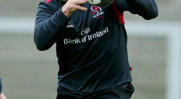 Good grip: Rory Best is urging Ulster to keep hold of their fate in the PRO12 play-off race