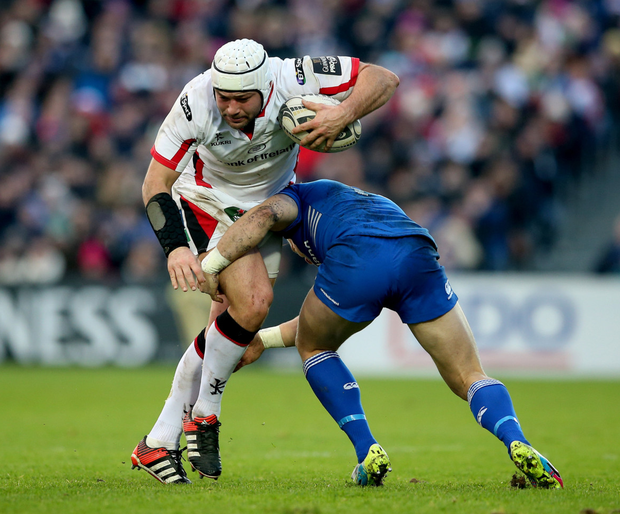 Rory Best in action