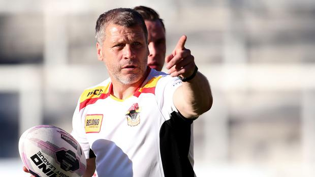 Bradford coach James Lowes, pictured, has welcomed the signing of James Mendeika