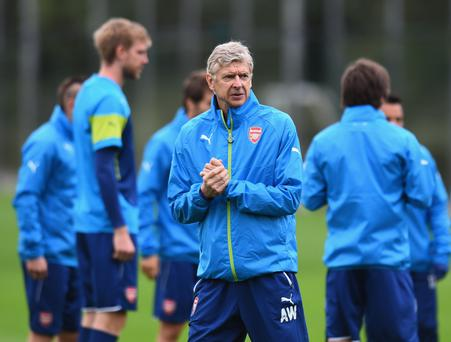 Tricky task: Arsenal boss Arsene Wenger expects Sunderland to be tough opponents as they chase the point needed for safety