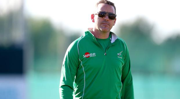 Optimistic: Ireland coach Darren Smith