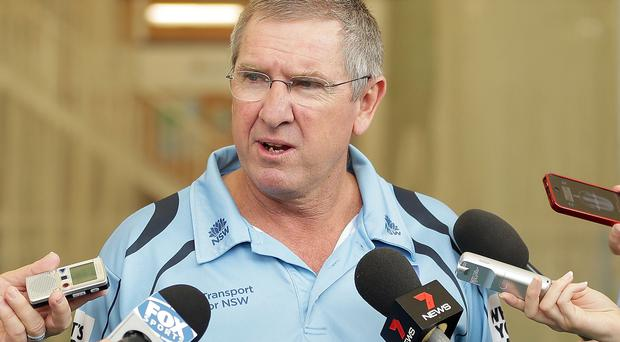 Top man: Trevor Bayliss will take charge for Ashes Series