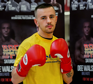 Tough test: Dee Walsh knows he faces a difficult opponent