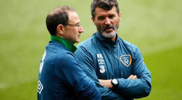 Battle primed: Martin O'Neill and Roy Keane want their players to stand up and be counted in Euro 2016 campaign