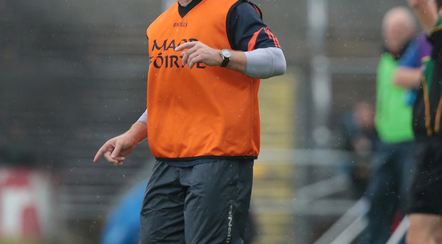 Harsh lesson: Kieran McGeeney's Armagh were thumped by Donegal but Paddy McKeever says his old team-mate is the man to steer the ship