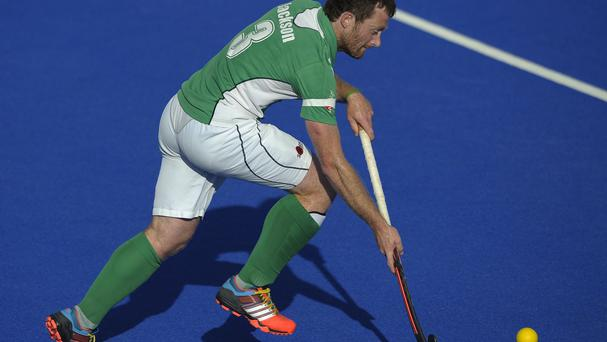 Ireland's John Jackson scored a deserved equaliser against Great Britain