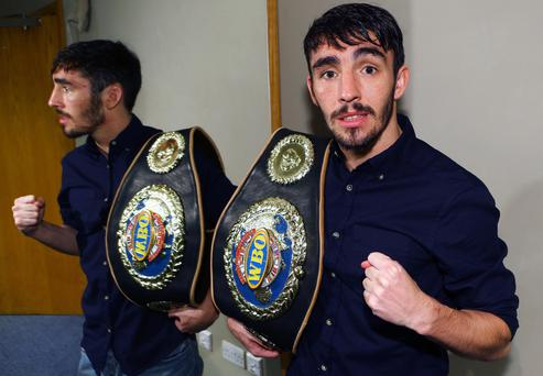 Top of the bill: Victory for Jamie Conlan in Dublin tomorrow night is expected to move him into the world's top four