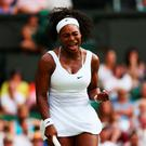 In with a shout: Serena Williams