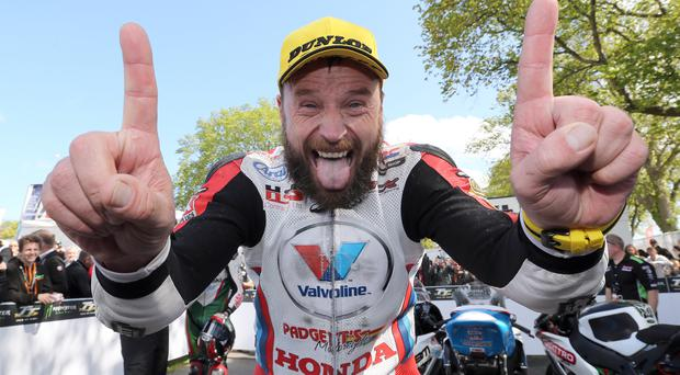 On form: Bruce Anstey is in fine fettle for podium spot