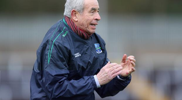 Fermanagh manager Pete McGrath