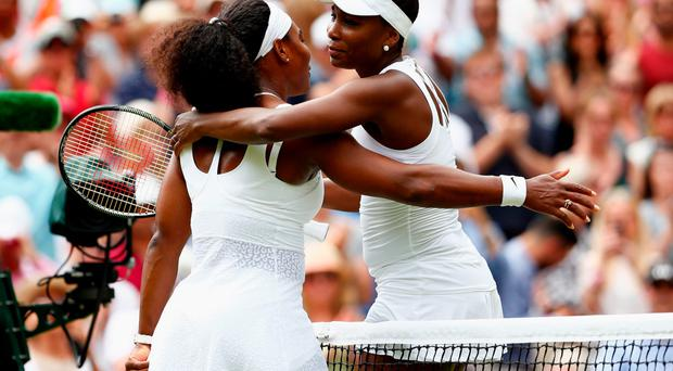 Sister act: Serena and Venus Williams