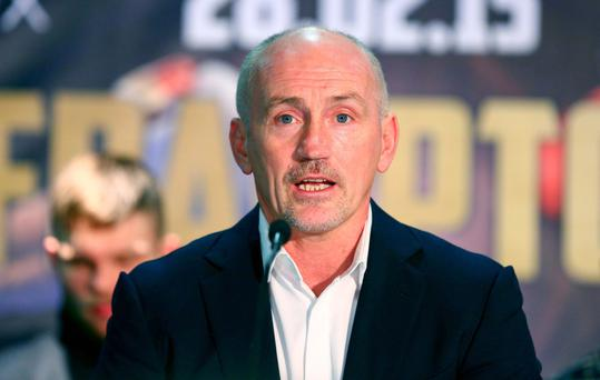 Shooting from the lip: Barry McGuigan