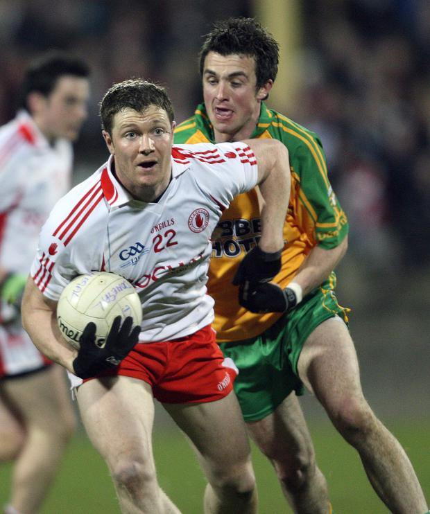 Bit of previous: Enda McGinley won three All-Ireland titles with Tyrone and was an All-Star in 2008