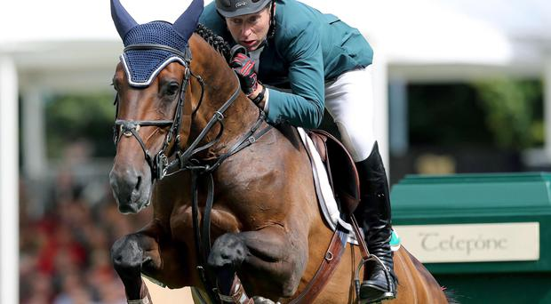Aiming high: Ulsterman Dermott Lennon is in contention for a spot on team to contest the Aachen European Championships
