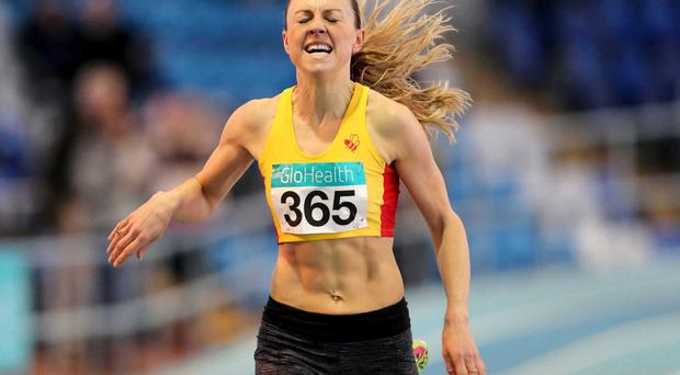 Out in front: Kerry O'Flaherty goes to the World Championships in Beijing in the form of her life