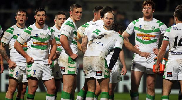Ireland's game in Belgrade was abandoned following a brawl after 65 minutes