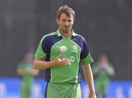 Tim Murtagh was the star in an improved bowling performance