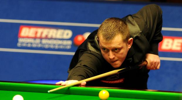 Mark Allen crashed out of the International Championship