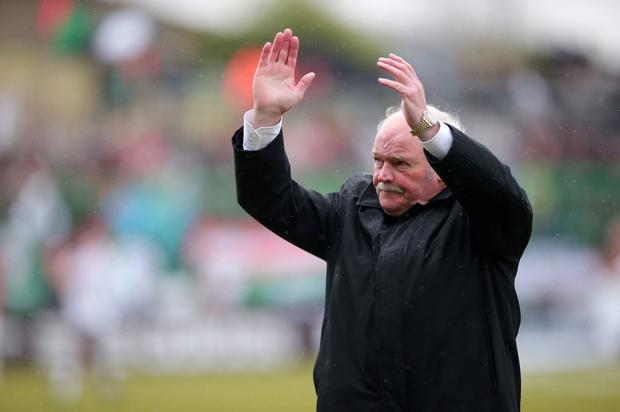 Big Ronnie McFall will depart the Portadown hotseat at the end of the season