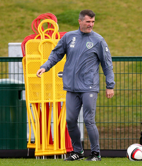 Low blow: Roy Keane finds it ironical that injured players are 10-14 days away from fitness